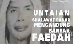 shalawat badar spirit_