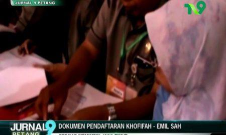 Dokumen Pendataran Khofifah Emil Sah