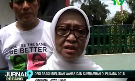 Jombang Bersatu, Ini Isi Deklarasi Munjidah Wahab dan Sumrambah Pilkada 2018